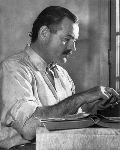 Ernest Hemingway para En los bosques de Angel mirou
