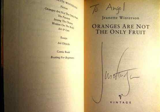 Jeanette Winterson Signature