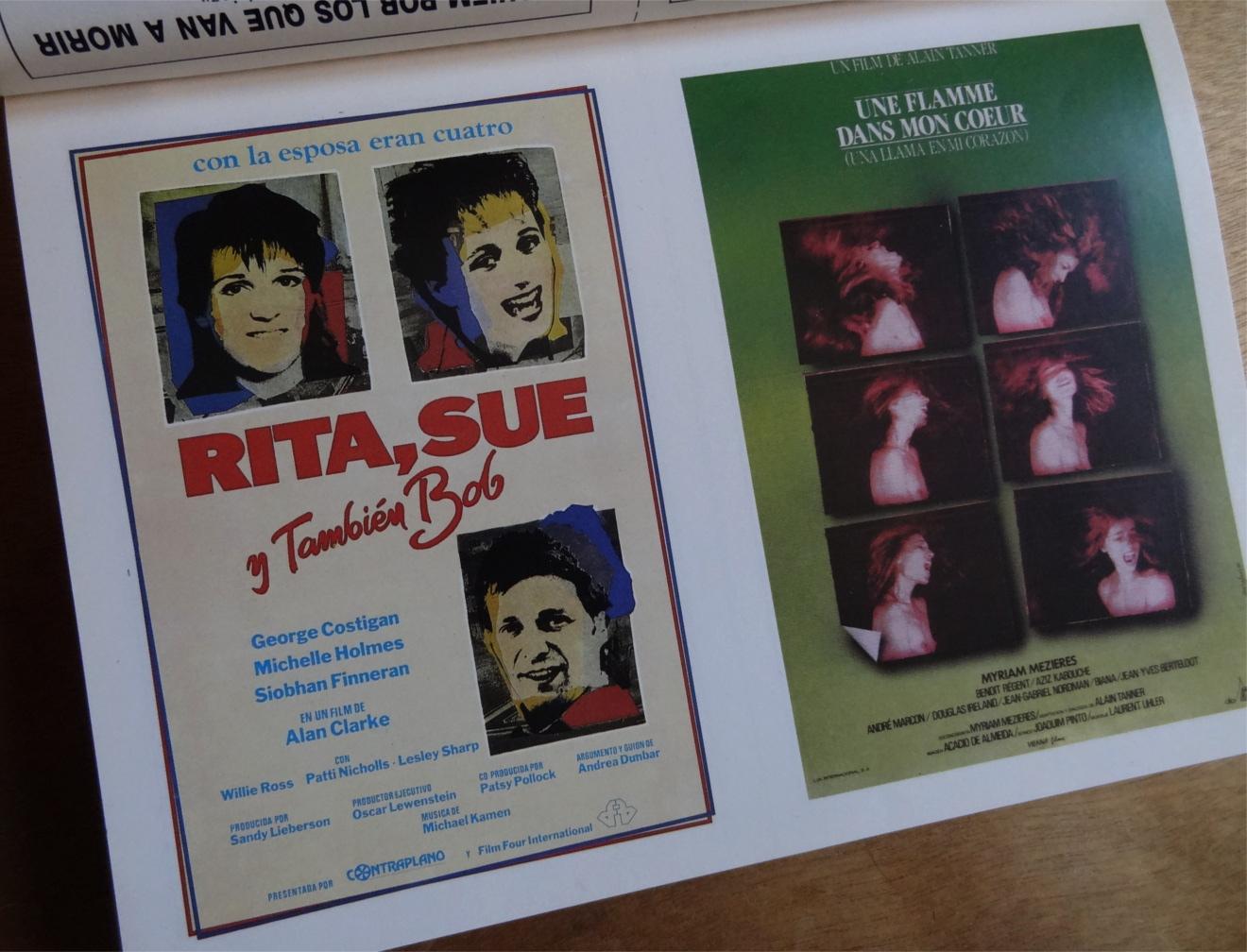 Rita Sue cartel España